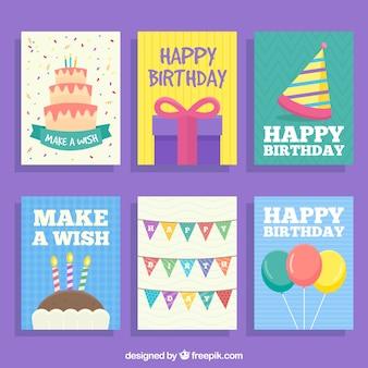Geburtstagskarten Set