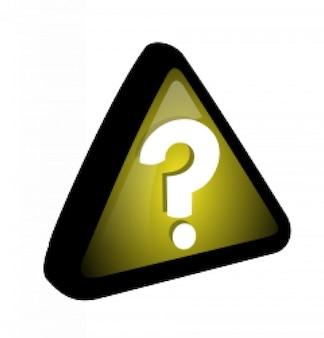 Gelb - Abfrage Symbol