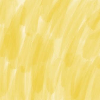 Gelbe abstrakte Aquarell Vektor