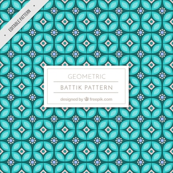 Geometrische Formen Batikmuster