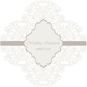 Geometrische Hochzeitseinladungsschablone