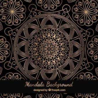 Geometrische Mandala Hintergrund