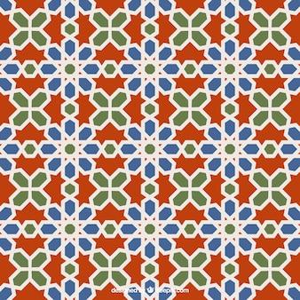 Geometrische Mosaikmuster