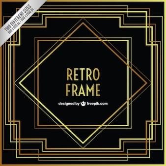 Geometrische Retro-Rahmen