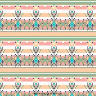Geometrischer Hintergrund mit farbigen Formen in Boho-Stil