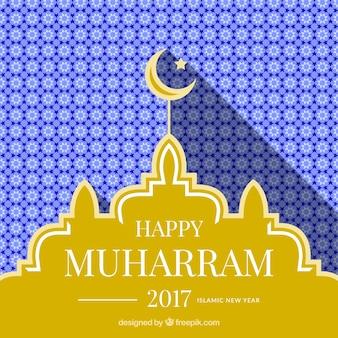 Geometrischer Muharram Hintergrund
