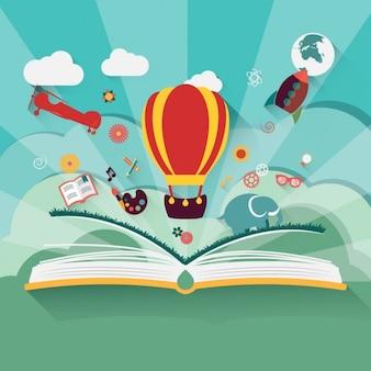 Geschichten in einem Buch