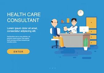 Gesundheitswesen Hintergrund Design