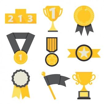 Gewinner Symbole