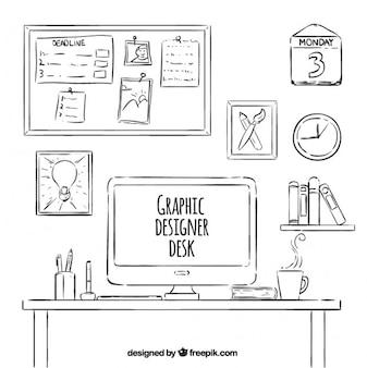 Schreibtisch tisch download der kostenlosen icons for Tisch graphic design