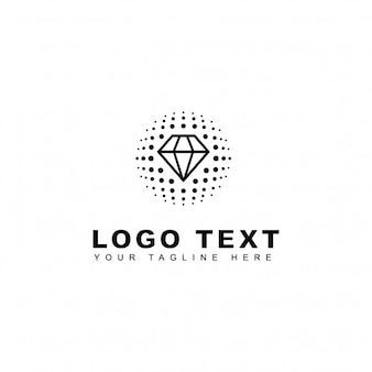 Globales Diamant-Logo