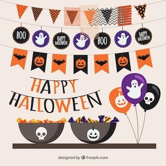 Glückliche Halloween-Party