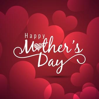 Glückliche Mütter Tag Hintergrund