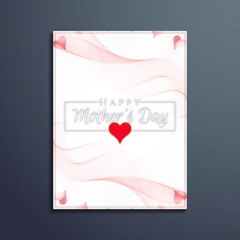 Glückliche Muttertagsgrußkarte