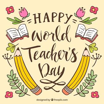 Glücklicher Lehrertag