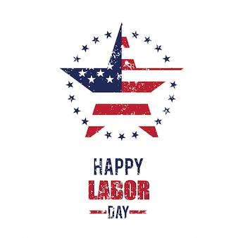 Glücklicher Tag der Arbeit 4. September United State of America
