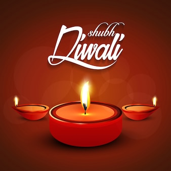 Glückliches Diwali.