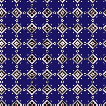 Gold und blauen Muster Hintergrund