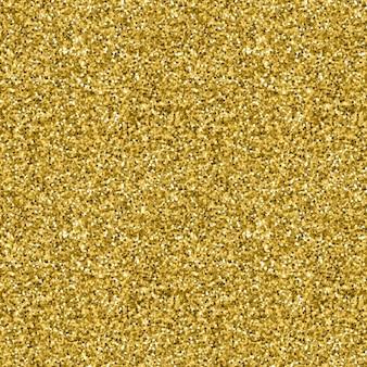 Goldene Glitter Textur nahtlose Muster in Gold-Stil Vektor-Design Celebration metallischen Hintergrund