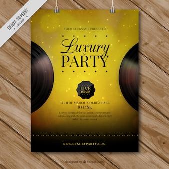 Goldene Parteiplakat