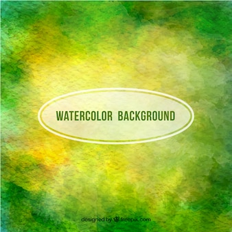 Grüne Aquarell Hintergrund