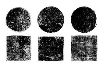 Grunge geometrische Formen collecti