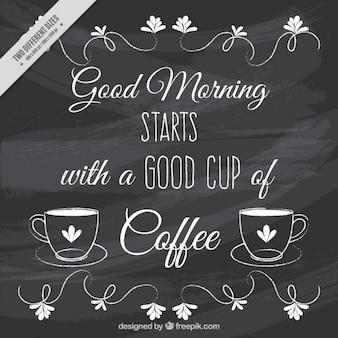 Guten Morgen mit einem Satz
