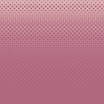 Halbton-Kreis Muster Hintergrund - Vektor-Grafik-Design von Ringen in verschiedenen Größen