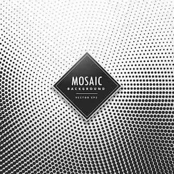 Halbton-Mosaik-Hintergrund