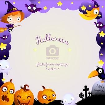 Halloween Hintergrund-Design