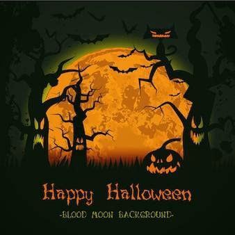 Halloween Hintergrund Tempalte