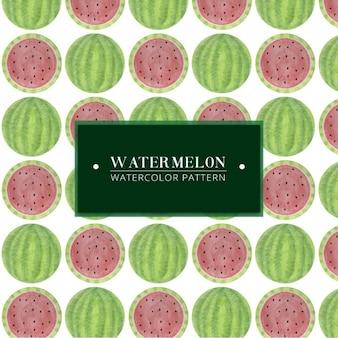 Hand gemalt Wassermelone Muster