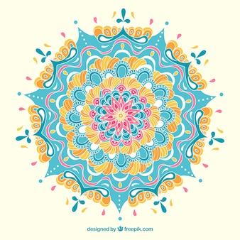 Hand gezeichnet Mandala Hintergrund