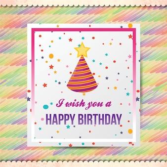 Happy Birthday Vektor-Illustration