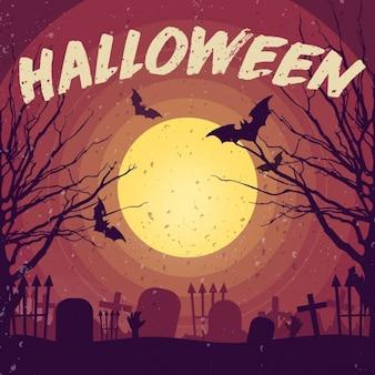 Happy Halloween Vektor-Illustration