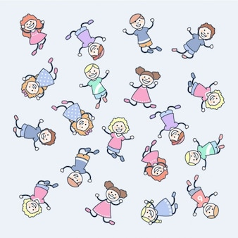 Happy Kinder Cartoon-