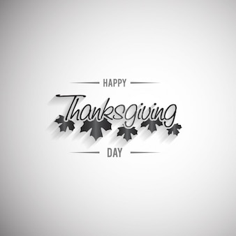 Happy Thanksgiving Day-Beschriftung