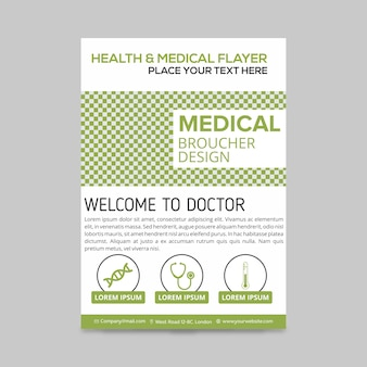 Healthcare Medical Broschüre Design