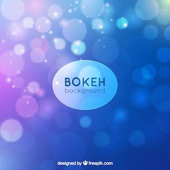 Helle blaue Bokeh Hintergrund