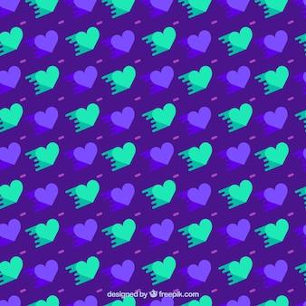 Herzmuster Hintergrund