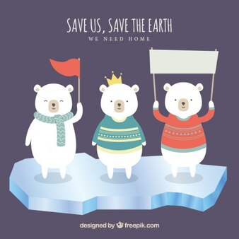 Hilf uns, retten sie die erde