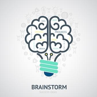 Hintergrund der Erfolg Ideen