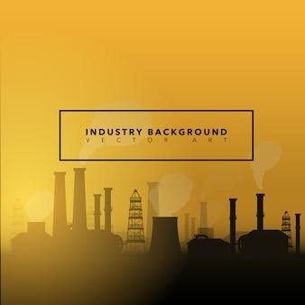 Hintergrund mit Industrie-Design