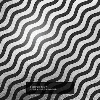 Hintergrund Silber und schwarzes Muster