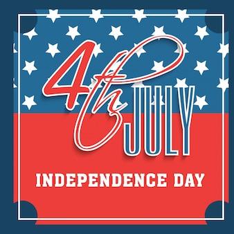 Hintergrund Streifen Amerika 4. Patriotismus