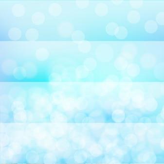 Hintergrunddesign mit hellem Licht auf blau