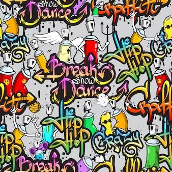 Hip-Hop-Hintergrund