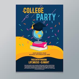 Hochschulparty Poster