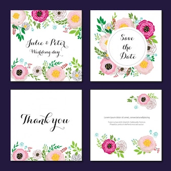 Hochzeitseinladungen Sammlung