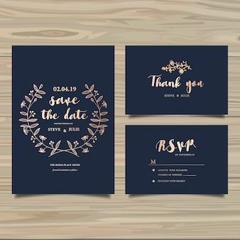 Hochzeitskarten-Sammlung